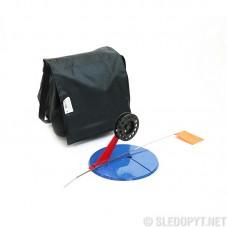 Набор жерлиц с угловой пласт. стойкой d-195 мм, катушка 75 мм, ПП пластик (10 шт.)