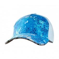 VEDUTA Кепка 7 панельная Reptile Skin Blue Water универсальный размер