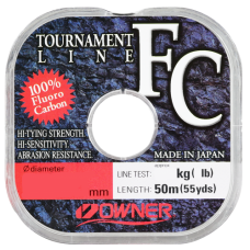 OWNER Леска Tournament FC 50м 0,29мм 5,4кг