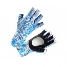 VEDUTA Перчатки солнцезащитные UV Gloves Reptile Skin Blue L мужские
