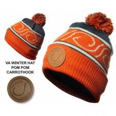 VEDUTA Шапка зимняя Pompom Hat Carrot Hook флис