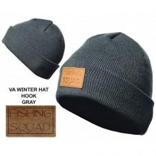 VEDUTA Шапка зимняя Winter Hat Cuff Fishing squad серая