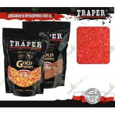 01026 Сухарь TRAPER Red fluo bread crumb красный флюо 400гр
