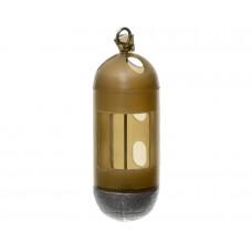 FLAGMAM Кормушка фидерная для опарыша пластиковая маленькая 30г