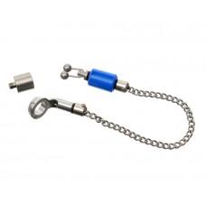 CARP PRO Механический индикатор поклевки на цепочке Hanger микро нерж сталь blue