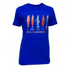 Футболка Flagman синяя XXL