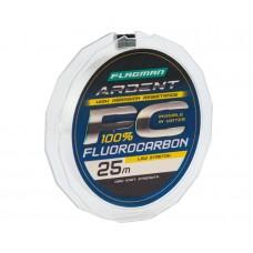 Леска Flagman Ardent Fluorocarbon 25м 0,22мм