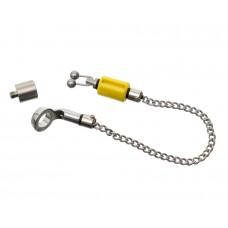 CARP PRO Механический индикатор поклевки на цепочке Hanger микро нерж сталь yellow