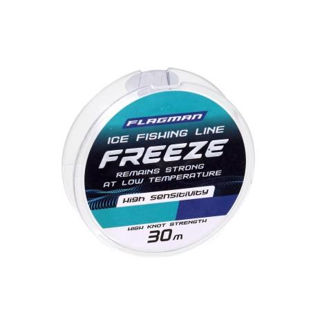 Леска Flagman Freeze Ice Fishing Line 30м 0.091мм