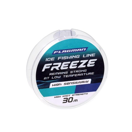 Леска Flagman Freeze Ice Fishing Line 30м 0.105мм