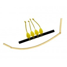 FLAGMAN Коннектор для штекера Dacron Connector желтый M 5х7,4мм