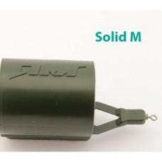 Кормушка из пласт.SOLID M-30мл,зел.40г