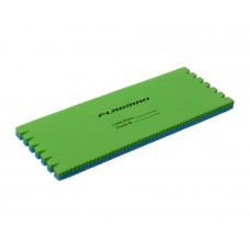 Мотовило для поводков и оснасток Eva Rig blue-green 15х6х0,8см