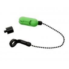 CARP PRO Механический индикатор поклевки на цепочке Hanger Mobile Bobbin green