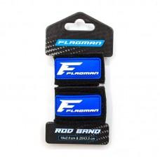 FLAGMAN Бандаж неопреновый для удилищ Rod Band 2шт 16х2,5см и 20х3,5см