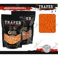 01027 Сухарь TRAPER Orange fluo bread crumb оранжевый флюо 400гр