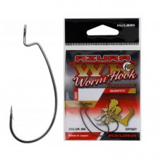 AZURA Крючок Tournament Worm Hook №1 8шт