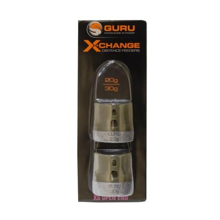 Кормушка Guru X-Change Distance Feeder Solid Extra Small 20гр + 30гр