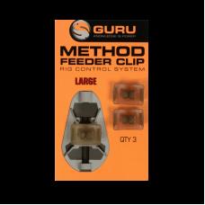 Клипса для методной кормушки Guru Method Clip Large