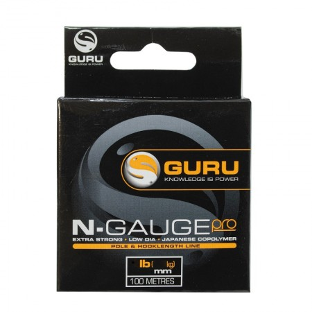 Леска Guru N-Gauge Pro 0,08мм 100м