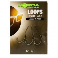 Поводок готовый Korda Loop Rigs Krank №6 18 lb