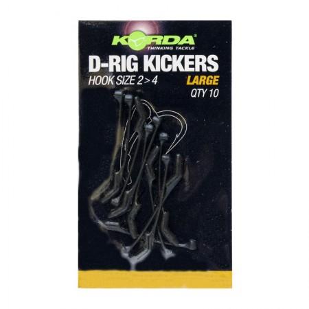 Лентяйка Korda Kickers D-Rig Green Large для крючка №2-4