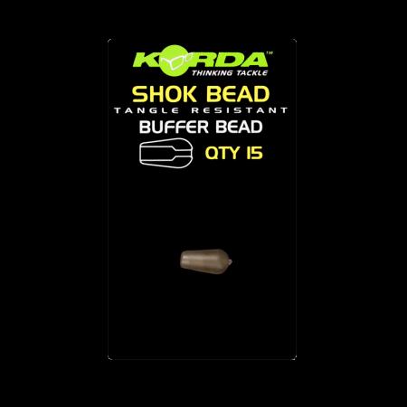 Бусина отбойник Korda Shok Bead Weedy Green