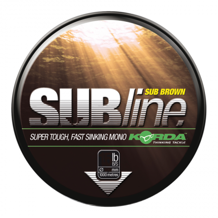 Леска Korda Subline Brown 0,40мм