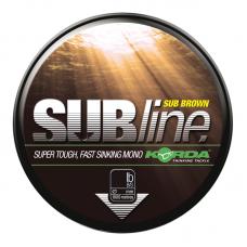 Леска Korda Subline Brown 0,43мм