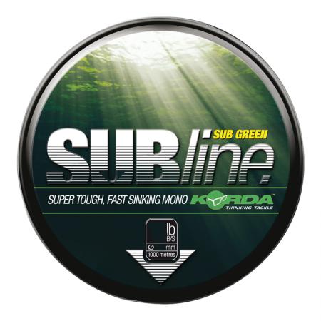 Леска Korda Subline Green 0,43мм