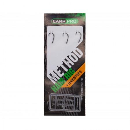 Готовый поводок Carp Pro Method Hair Rig Line 0,22мм Hook Size #8