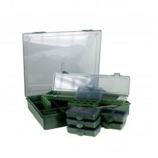 Коробка Carp Pro Academy 36Х30см +6 маленьких коробок+поводочница 360x300х60мм