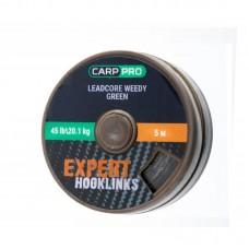 Ледкор Carp Pro зеленый 45lb 5м