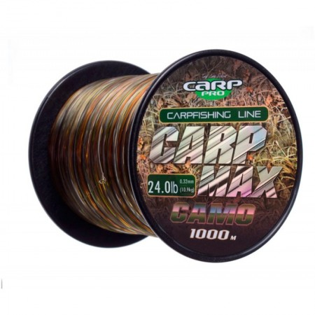 Леска Carp Pro Carp Max Camo 1000м 0.32мм
