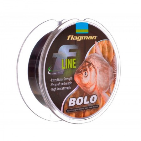 Леска Flagman F-Line Bolo 0.16мм