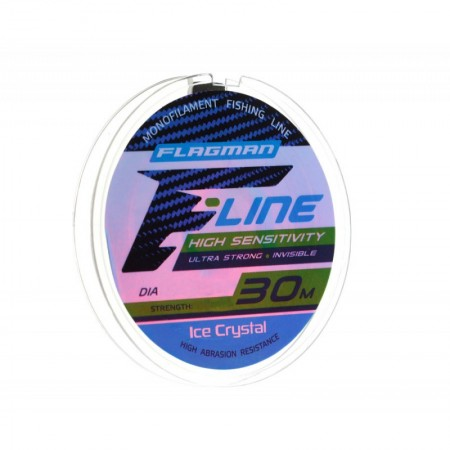 Леска Flagman F-Line Ice Crystal 30м 0.08мм