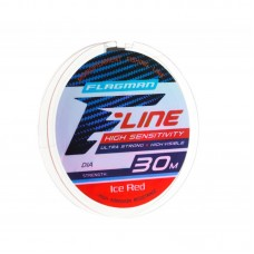 Леска Flagman F-Line Ice Red 30м 0,08мм