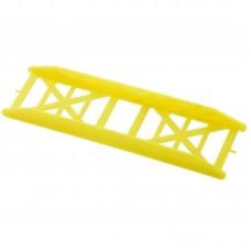Мотовило для снастей 37х143мм желтый флюо