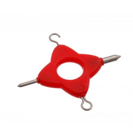 Мультиинструмент для затягтвания узлов Carp Pro Multi Rig Tool Red