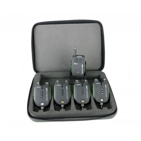 Набор 4-х сигнализаторов Carp Academy Sensor WDX