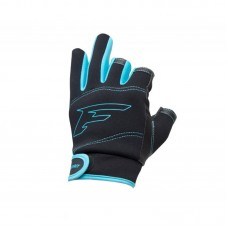 Перчатки спиннингиста Flagman Neoprene Gloves обрез 3 пальца L
