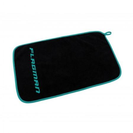 Полотенце Flagman черное