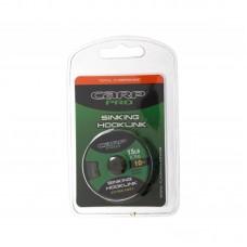 Поводковый материал без оболочки Carp Pro Sinking зеленый 15lb 10м