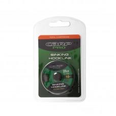 Поводковый материал без оболочки Carp Pro Sinking зеленый 25lb 10м