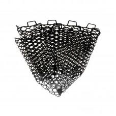Сетка для форелевого подсака Flagman черная силиконовая 50х50см