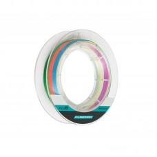 Шнур Flagman Braid PE Multicolor X8 150м 0,148мм