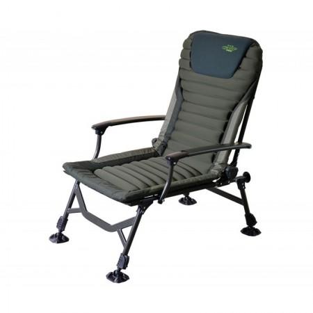 Складное карповое кресло c подлокотником Carp Pro 52x55x92cm