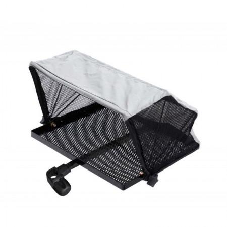Столик с тентом и креплением к платформе Flagman side tray 405x335mm D25mm
