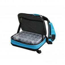 Сумка рюкзак спиннинговая Flagman Spin Bag с 2 коробками 34x24x10см