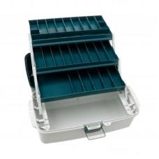 Ящик Flagman пластиковый 3-х полочный XL 45x22x25см